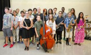 Botti with IAJSD Students